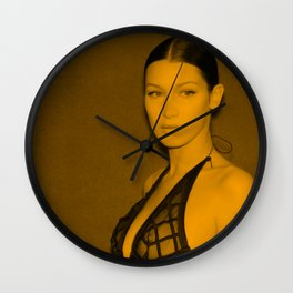 Bella Hadid Wall Clock