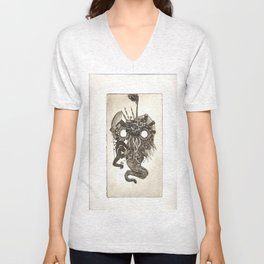 Oil Animal Unisex V-Neck