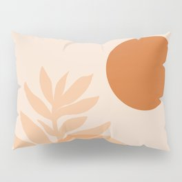 Abstraction_SUN_NATURE_Minimalism_001 Pillow Sham