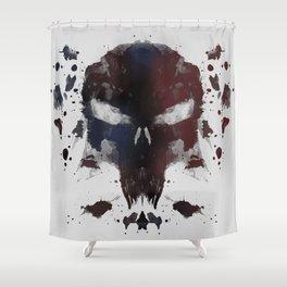 Ink Devil Shower Curtain