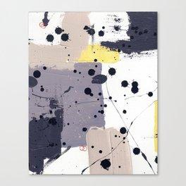 Purple Mattress Canvas Print