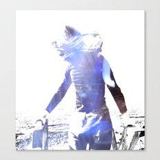 Girl in the sun Canvas Print