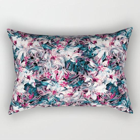 Seamless Floral And Paisley Pattern Rectangular Pillow