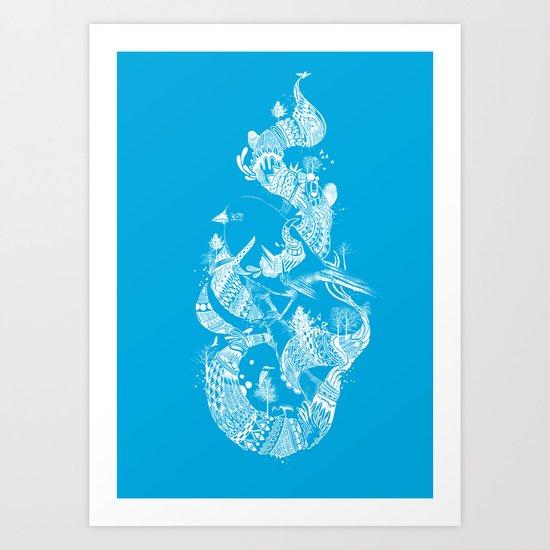 Art & Freedom Art Print
