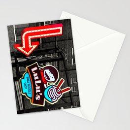 Color splashed Lulu's Stationery Cards