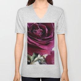 Rose photo Unisex V-Neck