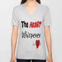 The Heart Whisperer Unisex V-Neck