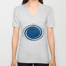 On the Blue Moon Unisex V-Neck