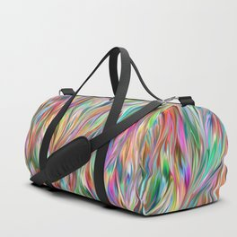 Abstract painting color texture 2 Duffle Bag