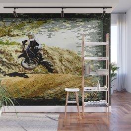 Dirt-bike Racer Wall Mural