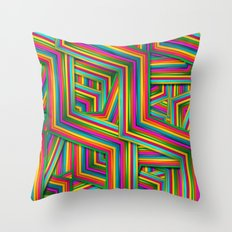 Therapist Pattern Throw Pillow