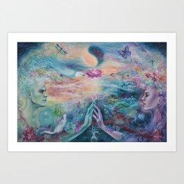 Divine Sacred Union Art Print
