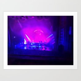 Dark Side Of Moon Concert Art Print