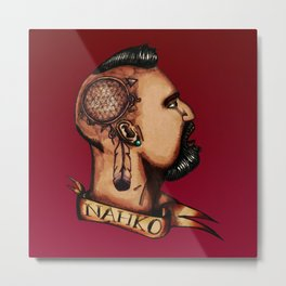 Nahko Bear Fan Made Art Metal Print
