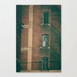 CRUMBLE//001 Canvas Print