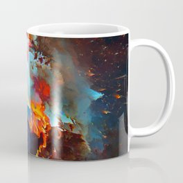 Siméla (Abstract 52) Coffee Mug