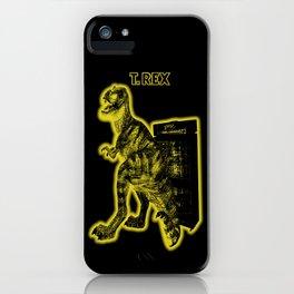 Electric Warriosaurus iPhone Case
