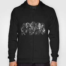Freddy Krueger Jason Voorhees Michael Myers leatherface Darth Vader Blackest of the Black Hoody