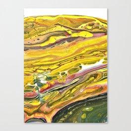 Fluid Art 7 Canvas Print