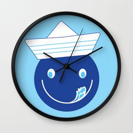 SMILE BOY Wall Clock