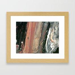 Marble cake Framed Art Print