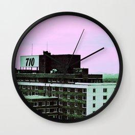 710 Wall Clock
