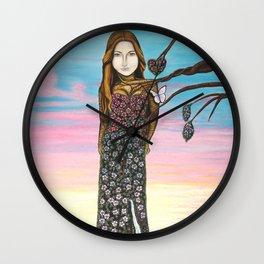 L'amour irrésistible Wall Clock