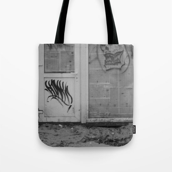 Death's newspaper booth Tote Bag