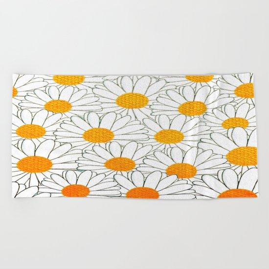 marguerite New version-266 Beach Towel