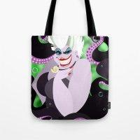 ursula Tote Bags featuring Ursula by Karrashi