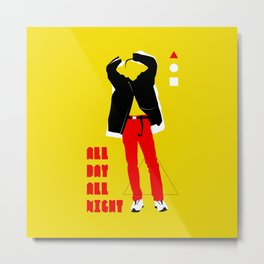 SHINee - All Day All Night Metal Print