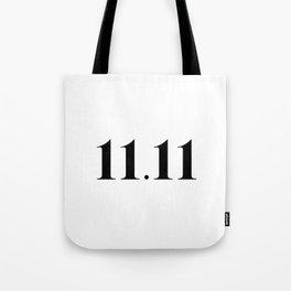 11.11 Tote Bag