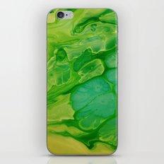 The green lakes iPhone & iPod Skin