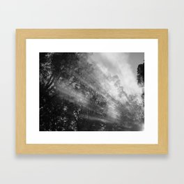 Smoke Signals 2 Framed Art Print