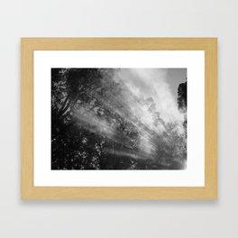 Smoke Signals 2 Framed Art Print