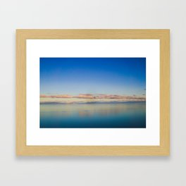 Denman Island's Horizon Framed Art Print