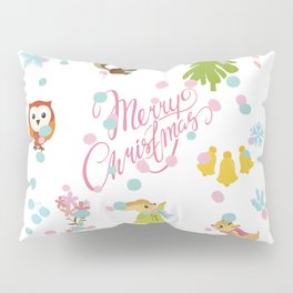 Marry Christmas Pattern Pillow Sham