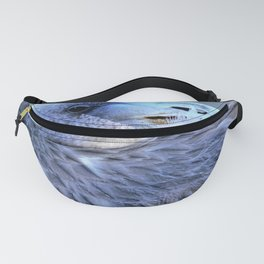 Young Flamingo Feathers by Reay of Light Fanny Pack
