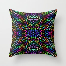 Colorandblack series 432 Throw Pillow
