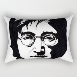 A Working Class Hero Is Something To Be Rectangular Pillow