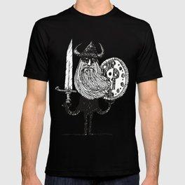 Sword, Beard & Shield T-shirt