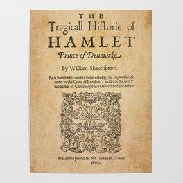 Shakespeare, Hamlet 1603 Poster