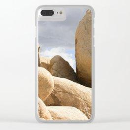 Big Rock 7443 Joshua Tree Clear iPhone Case