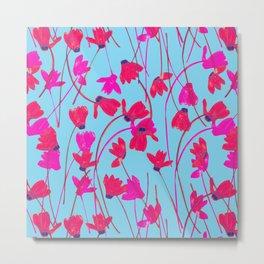 Flowering Cyclamen #5 Metal Print