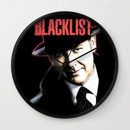 Blacklist Wall Clock