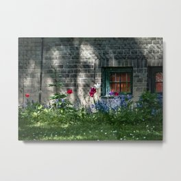 Early summer cottage Metal Print
