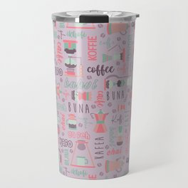 Coffee Love Around the World Travel Mug