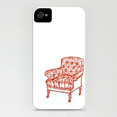 Red Chair Slim Case iPhone (4, 4s)