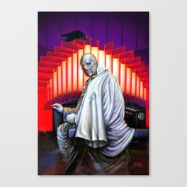 Dr. Phibes Vincent Price horror movie monsters Canvas Print