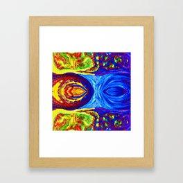 Storm Brewing at Dusk Framed Art Print